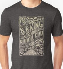 BB King Hollywood Bowl Vintage Concert Poster Unisex T-Shirt