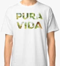 Pura Vida Costa Rica Palm Trees Classic T-Shirt