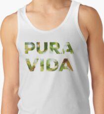 Pura Vida Costa Rica Palm Trees Tank Top
