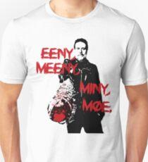 THE WALKING DEAD - NEGAN - EENY, MEENY, MINY, MOE. Unisex T-Shirt