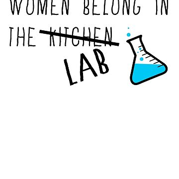 Women in the Lab by ohsotorix3