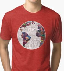 Us Against The World Tri-blend T-Shirt