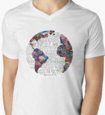 Us Against The World Men's V-Neck T-Shirt
