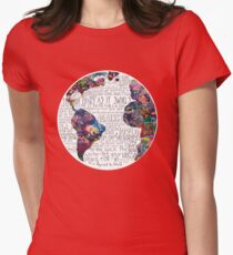 Us Against The World Womens Fitted T-Shirt