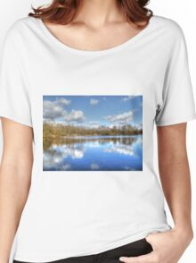 Lake Reflections HDR Women's Relaxed Fit T-Shirt