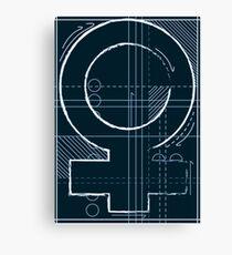 Women in Engineering  Canvas Print