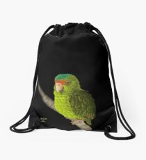 Baby Amazon Parrot Drawstring Bag