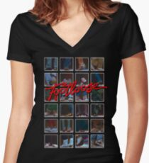 Footloose Women's Fitted V-Neck T-Shirt