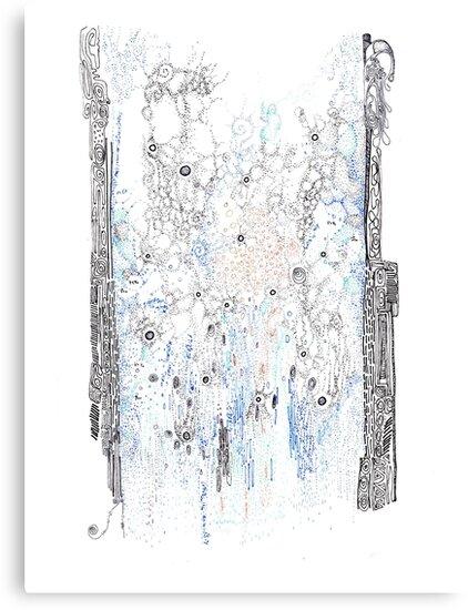 Bingham fluid by Regina Valluzzi