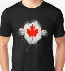 Canada Flag. Proud Canadian Unisex T-Shirt