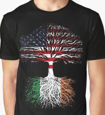 American Grown, Irish Roots Graphic T-Shirt