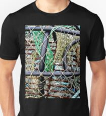 Old Nets and Lobster Pots, Mullaghmore, Sligo, Donegal, Ireland Unisex T-Shirt
