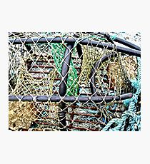 Old Nets and Lobster Pots, Mullaghmore, Sligo, Donegal, Ireland Photographic Print