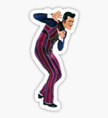 Robbie - Number One Villain Sticker