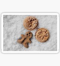 Xmass cookies Sticker