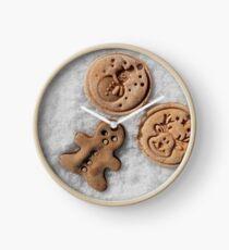 Xmass cookies Clock