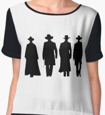 Tombstone Women's Chiffon Top