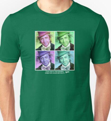 Willy Wonka Warhol T-Shirt