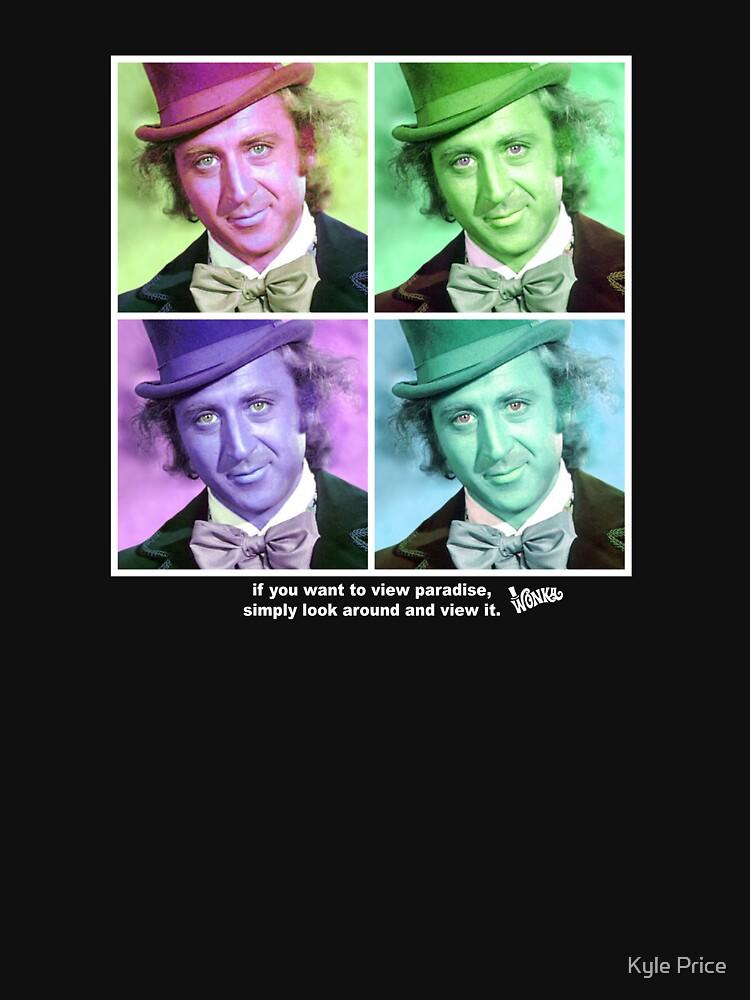 Willy Wonka Warhol by kyleandrewprice