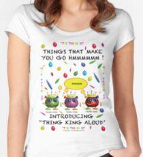 Things that make you go Hmmmmmmm Women's Fitted Scoop T-Shirt