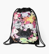 The Axolotls Drawstring Bag