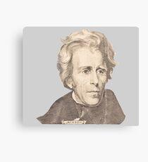 Portrait of Andrew Jackson Canvas Print