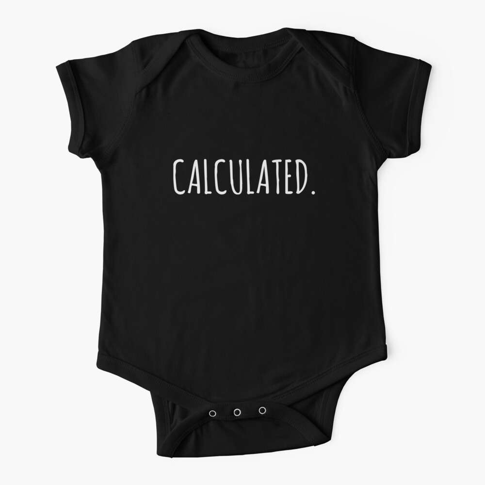 Rocket Leaugue Video Game Calculated Funny Gifts Baby One-Piece