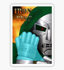 Iron Fist Sticker