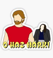 The Room O Hai Mark Sticker