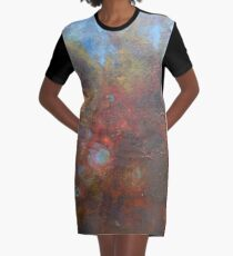 Yarmouth Abstraction  Graphic T-Shirt Dress