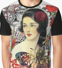 Of Roses and Butterflies Graphic T-Shirt