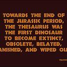Jurassic. by Pundamentalism