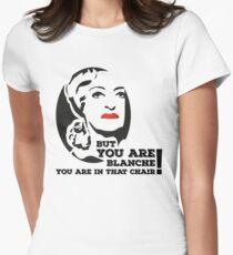 Bette Davis as Baby Jane Women's Fitted T-Shirt
