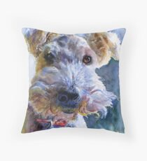 Fox Terrier Full Throw Pillow