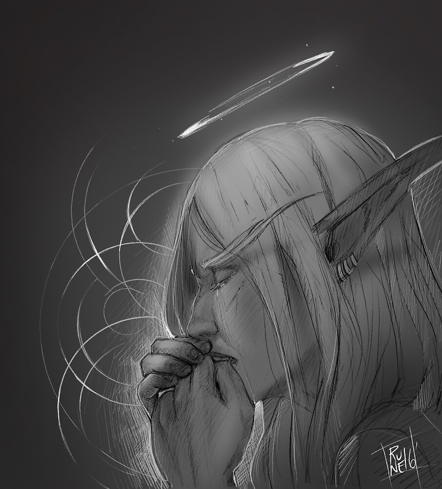 Weeping Angel by runesael