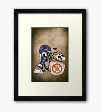 Android Love 2 Framed Print