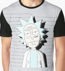 Morty Mug Shot Graphic T-Shirt