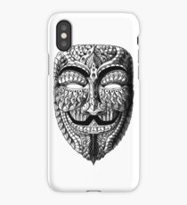 Ornate Anonymous Mask iPhone Case/Skin