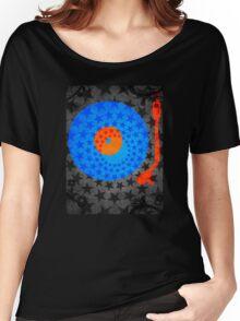 Vinyl Record Stars Women's Relaxed Fit T-Shirt