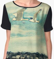 The Love of Flying Women's Chiffon Top