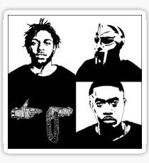 Kendrick LaMadvillaiNas The Jewels Sticker