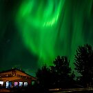 Lakepoint auroras by peaceofthenorth