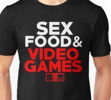Sex, Food & Video Games - Nintendo Unisex T-Shirt