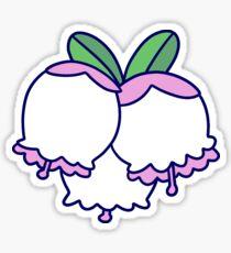 Blueberry Blossoms Sticker
