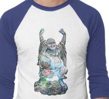 Happy Buddha | Tarantula Nebula Men's Baseball ¾ T-Shirt