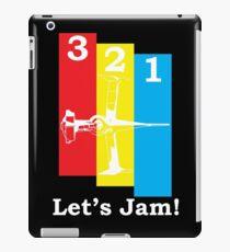 Cowboy Bebop 3, 2, 1, Let's Jam! iPad Case/Skin