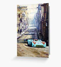 Targa Florio 1970  Porsche 908 Siffert Greeting Card
