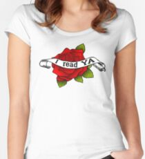 I Read YA Women's Fitted Scoop T-Shirt