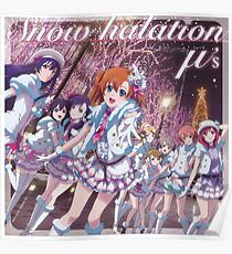Love Live! School Idol Project - Snow Halation~ Poster