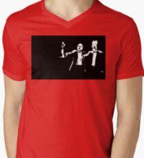 Muppets Fiction Mens V-Neck T-Shirt